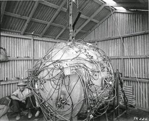 Gadget first atomic bomb1945