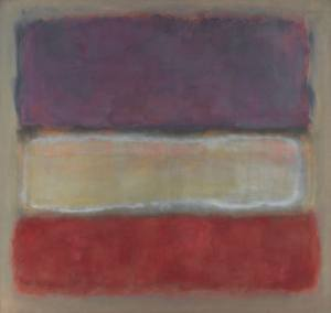 Purple White Red1953 Mark Rothko
