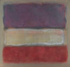 Purple White Red1953 Mark Rothko