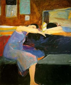 Richard Diebenkorn.1961Sleeping Woman