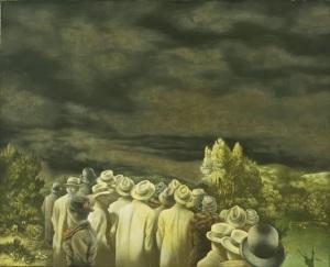 Richard Oelze, The Expectation1935