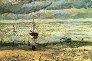 Scheveningen beach- Van Gogh