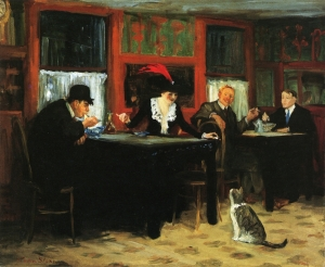 John French Sloan.chinese-restaurant1909