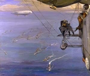 John Lavery- Convoy NorthSea1918