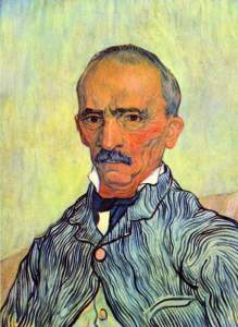 Keeper of lunatic asylum of Saint-Paul -Van Gogh