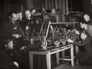 Locomotive Laboratory.Technical Institute.cccp1941