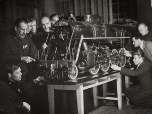 Locomotive Laboratory.Technical Institute.cccp1941