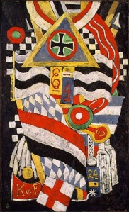 Marsden Hartley, Portrait German Officer1914