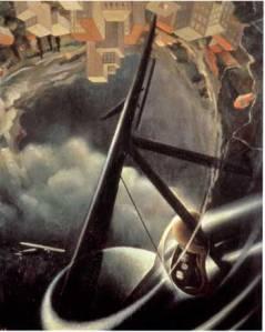 tullio.crali.Aeropittua.futurism.dogfight1936