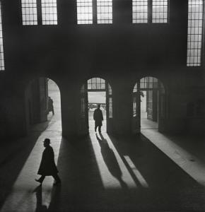 vishniac.Anhalter Bahnhof railway Potsdamer Platz, Berlin