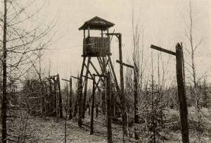 abandoned guard tower- gulags
