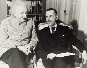 Albert Einstein and Thomas Mann1938