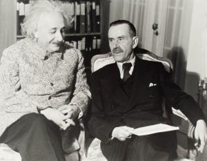 Albert Einstein and Thomas Mann1938