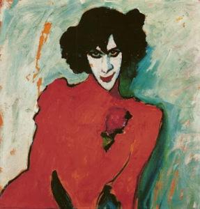 Alexej von Jawlensky, Portrait dancer Alexander Sacharoff1909