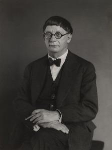 August Sander.architect.hans.poelzig1929