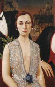 Christian Schad Baroness Vara Wassilko1926