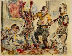 George Grosz.nazis