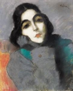 József Rippl Rónai -Zdenka Ticharich1921