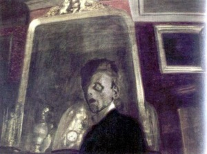 Léon Spilliaert, Self-Portrait, 1908