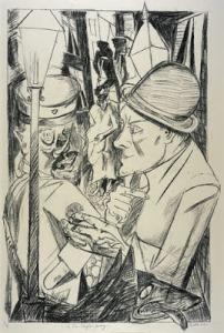 Max Beckmann,Hell1919