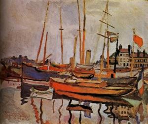 port-le-havre1906.Raoul Dufy