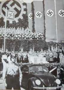Volkswagen. KdF-Kraft durch Freude-Strength through Joy.nazis