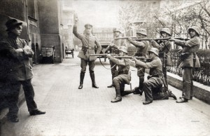 Execution of German Communist Munich1919