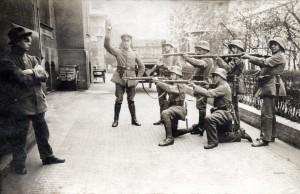 Execution of German Communist Munich1919