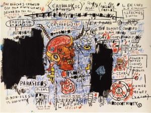 Leeches - Jean-Michel Basquiat