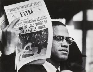 MalcolmX.protest