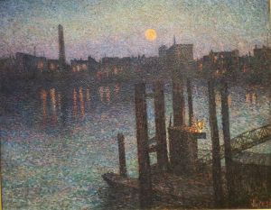 Port_of_London.Maximilien_Luce
