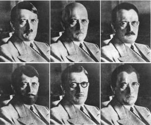 US intelligence.how Hitler could have disguised himsel1944