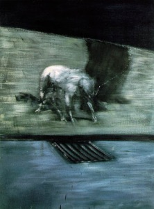 Francis Bacon man dog