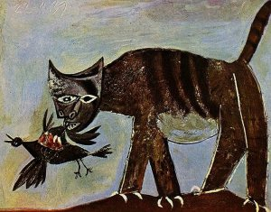 picasso.cat-bird1939