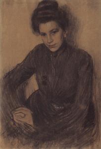 Proshinskaya - Boris Kustodiev1901