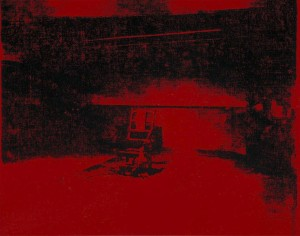 Andy-Warhol-Red-Disaster-electric chair1963