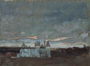 Arthur Bowen Davies.castle