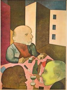 George Grosz_Ecce Homo(1921)