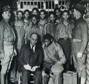 Scottsboro Boys falsely accused1931