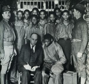 Scottsboro Boys falsely accused1931
