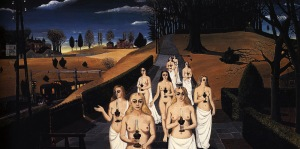 The Cortege - Paul Delvaux1963