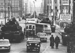 Checkpoint.Charlie 1961 Berlin