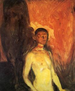 Self- in Hell - Edvard Munch1903