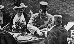 Austrian archduke Franz Ferdinand -Sophie.1914