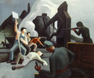 Thomas Hart Benton.strike