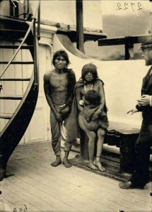 natives to Europe Human Zoos1899