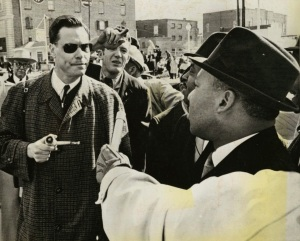 American Nazi GLRockwell -MLuther King1965