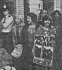 Anti-Nazi League.BrightonUK