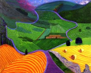 david hockney.Yorkshire