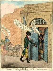 james gillray bastille